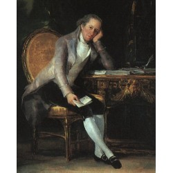Francisco José de Goya -Gaspar Melchor De Jovellanos-Art gallery oil painting reproductions