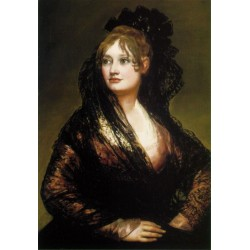 Francisco José de Goya -Isabel de Porcel-Art gallery oil painting reproductions