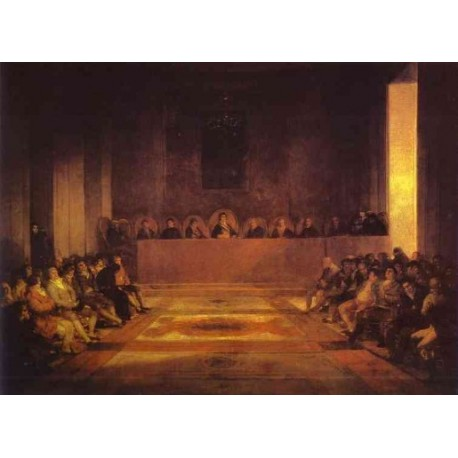 Francisco José de Goya -Junta of the Philippines-Art gallery oil painting reproductions