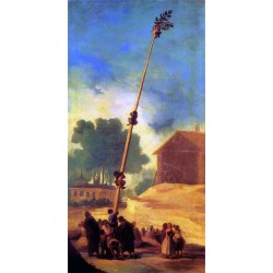 Francisco José de Goya -La Cucana-Art gallery oil painting reproductions