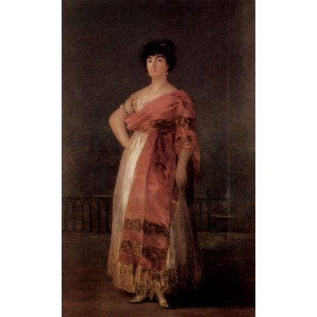 Francisco José de Goya -La Tirana-Art gallery oil painting reproductions
