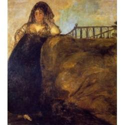 Francisco José de Goya -Leocadia-Art gallery oil painting reproductions