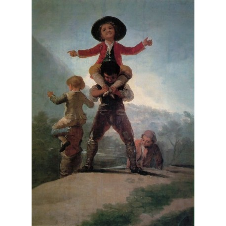 Francisco José de Goya -Little Giants-Art gallery oil painting reproductions