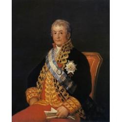 Francisco José de Goya -Portrait of José Antonio, Marqués de Caballero-Art gallery oil painting reproductions