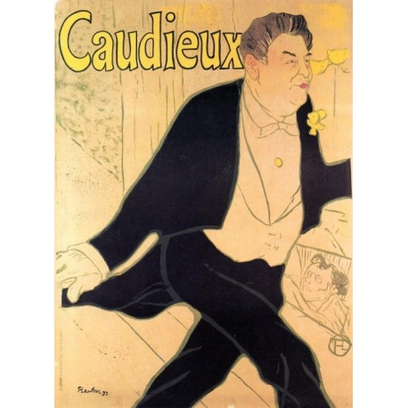 Caudieux 1893 by Henri de Toulouse-Lautrec-Art gallery oil painting reproductions