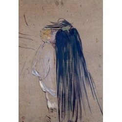 A Day Out by Henri de Toulouse-Lautrec-Art gallery oil painting reproductions