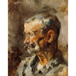A Worker at Celeyran by Henri de Toulouse-Lautrec-Art gallery oil painting reproductions