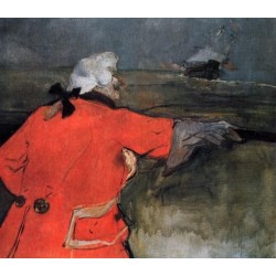 Admiral Viaud by Henri de Toulouse-Lautrec-Art gallery oil painting reproductions