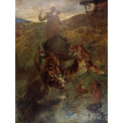Allegory - Springtime of LIfe by Henri de Toulouse-Lautrec-Art gallery oil painting reproductions