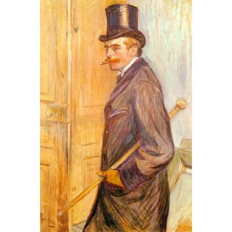 Louis Pascal 1891 by Henri de Toulouse-Lautrec-Art gallery oil painting reproductions
