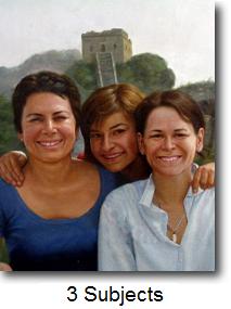 3 person portrait