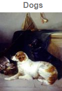 dog oil paintings for sale
