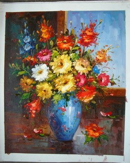 Flowers 3 oil painting
