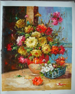 Flowers 4 oil painting