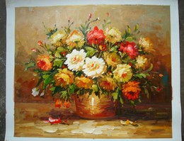Flowers 5 oil painting