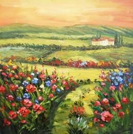 Landscape 1 oil Oil painting