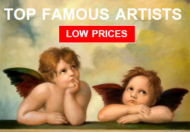 Top Famous artists for sale